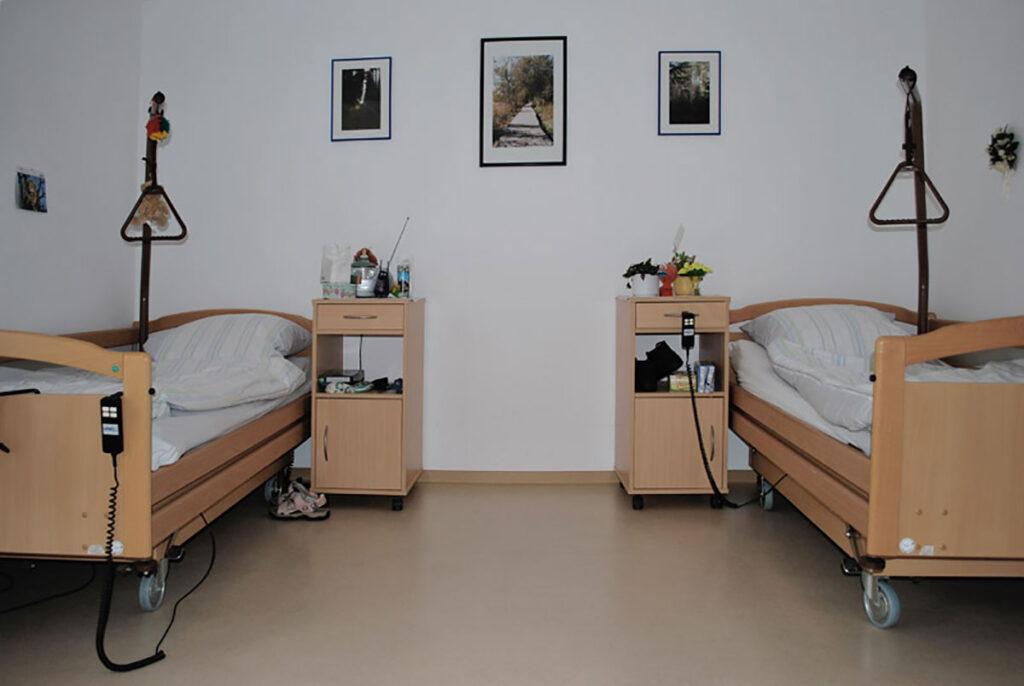 Doppelzimmer im Seniorenhaus Odenwald