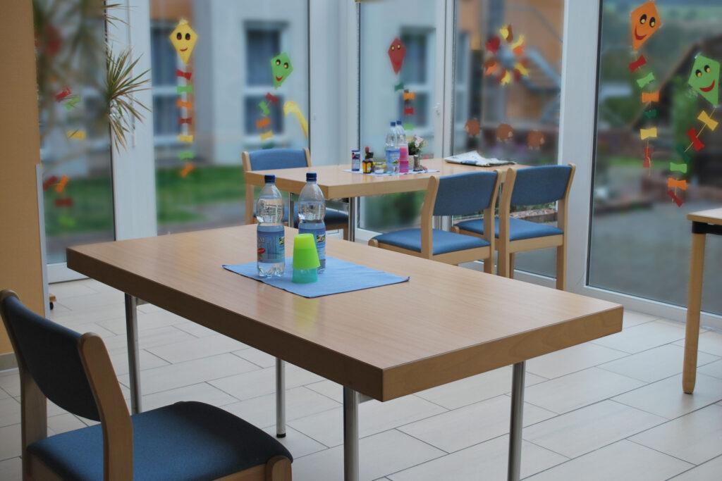 Speisesaal im Seniorenhaus Odenwald